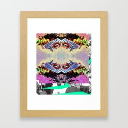 SYNX Framed Art Print