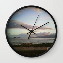 Island Dreaming 3 Wall Clock