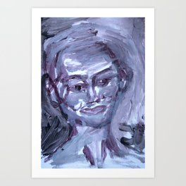 Face Of Her Own Art Print
