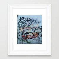 banksy Framed Art Prints featuring Banksy Truck by MikeKornArt