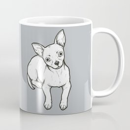 Chihuaha puppy line drawing Coffee Mug