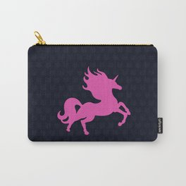 Visible Invisible Pink Unicorn Carry-All Pouch
