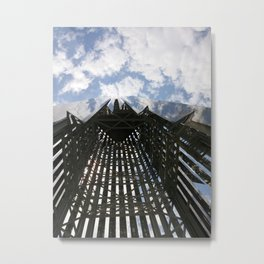 Clouds + Architecture Metal Print
