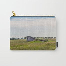 Outhouses, Palmgren Township School, North Dakota 2 Carry-All Pouch
