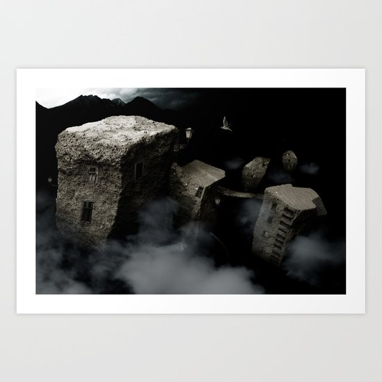 seventh for the mountains Art Print