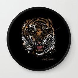 Tiger Face (Signature Design) Wall Clock
