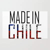 chile Area & Throw Rugs featuring Made In Chile by VirgoSpice