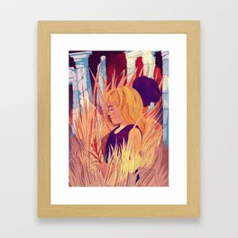 Jorinde and Joringel Framed Art Print