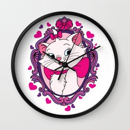 Because I'm a lady, that's why. Wall Clock