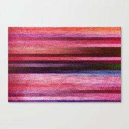 Pink Silk Stripes Canvas Print
