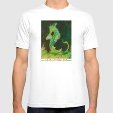 Sea Dragon Mens Fitted Tee White MEDIUM