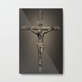 Crucifixion - For All of US Metal Print