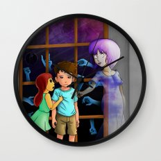 The Hands Can't Resist Him Wall Clock