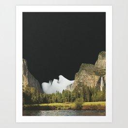 Moment of Silence Art Print