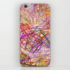 Ilaria Multi Scribble iPhone & iPod Skin
