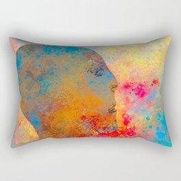 Drifting Into The Colors Rectangular Pillow