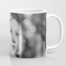 Ann Southern, Hollywood Starlet black and white photograph / black and white photography Coffee Mug