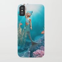 little mermaid iPhone & iPod Cases featuring Little Mermaid by Simone Gatterwe
