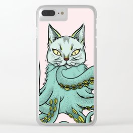 Catopus Clear iPhone Case