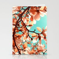 magnolia Stationery Cards featuring magnolia by blackpool