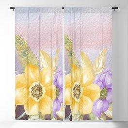 Flowers bouquet 78 Blackout Curtain