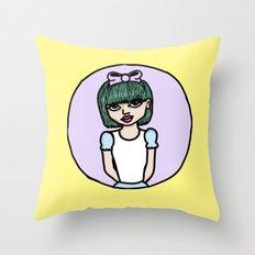 Bow Peep Throw Pillow