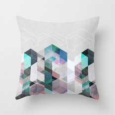 Nordic Combination 23 Throw Pillow
