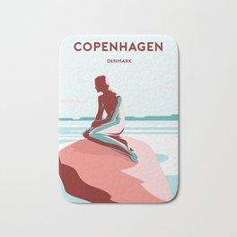 LITTLE MERMAID - COPENHAGEN Bath Mat