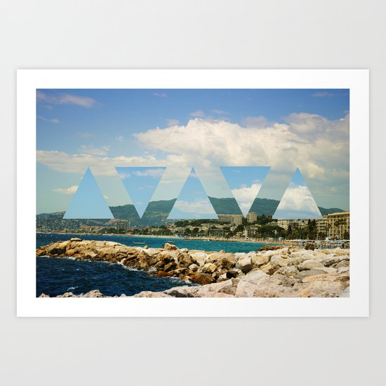 cannes twist.  Art Print