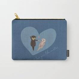 I love you like no otter Carry-All Pouch