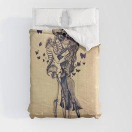 Always Kiss Goodnight Skeletons Comforters
