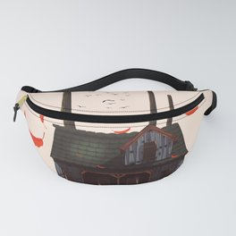 Wooden Shack Fanny Pack