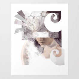 The Inevitable Fade Away  Art Print