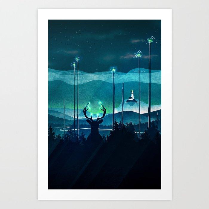 Keeper of the Light Art Print