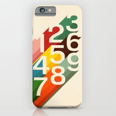Retro Numbers iPhone 6 Slim Case