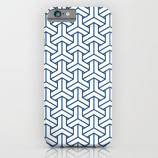 bishamon in monaco blue iPhone & iPod Case