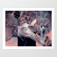 "eugenia loli Art Prints featuring Loli study #2 ""Relinquish"" by -Orlando Sanchez Art-"