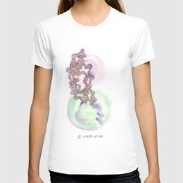 14 // Abstract 9 March 2017 | Abstract Shapes Art Colour T-shirt