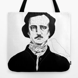 Persistence of Poe Tote Bag