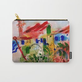The Colors of Menton! Carry-All Pouch