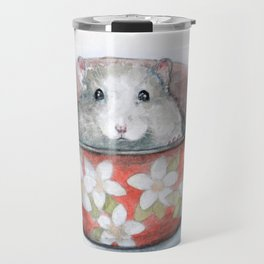 Rat in a cup Travel Mug