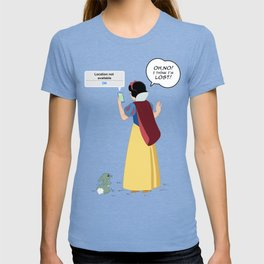 SnowWhite - A smile and a song T-shirt