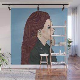 Lana Portrait Wall Mural