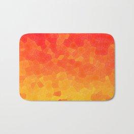 Mosaic Lake of Fire Bath Mat