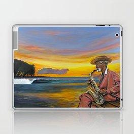 Haitian Sax Laptop & iPad Skin