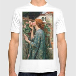 John William Waterhouse The Soul Of The Rose T-shirt