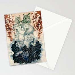 The Forest Folk Stationery Cards