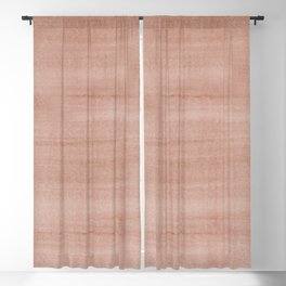 Sherwin Williams Cavern Clay Dry Brush Strokes - Texture Blackout Curtain