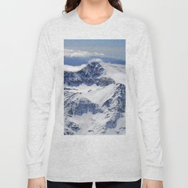 """""""Big mountains"""". Aerial photography Long Sleeve T-shirt"""