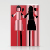 sisters Stationery Cards featuring sisters  by sladja